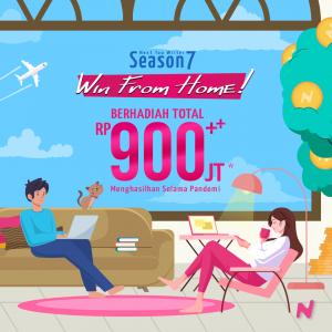 Daftar Sekarang, Menangkan Hadiah 900++ Juta!